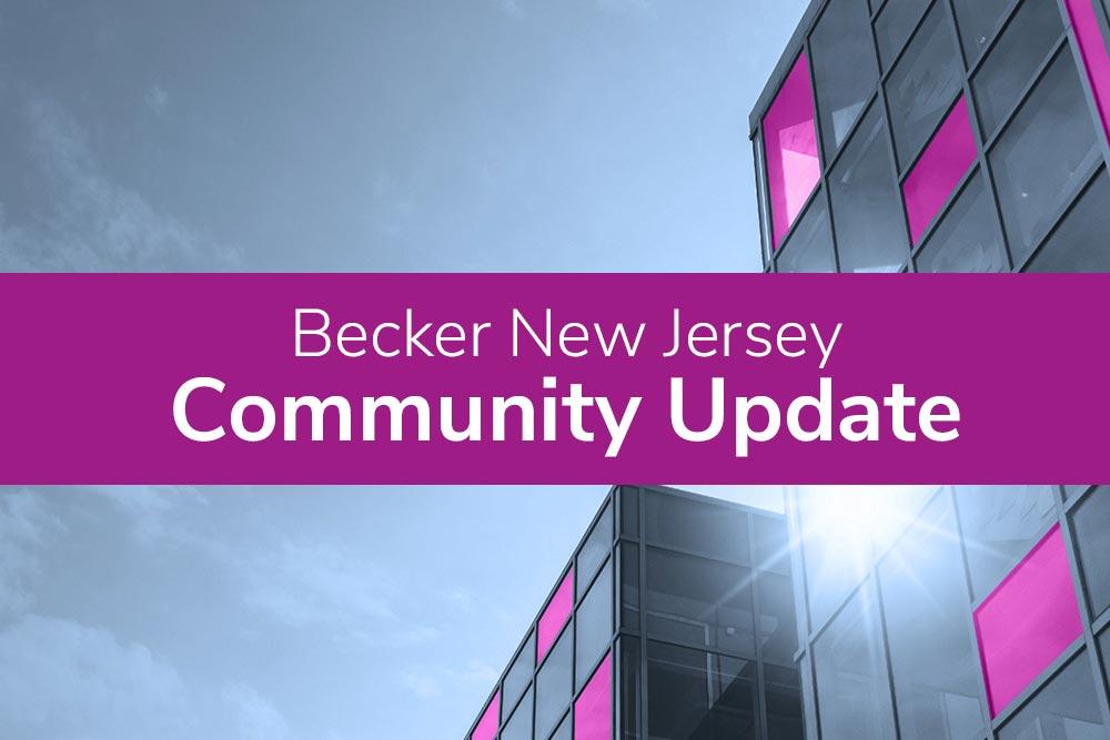 Becker New Jersey Community Update Banner